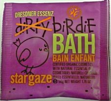 Star Gaze Purple - Dirtie Birdie Organic Bath Salts - Sachet 50g
